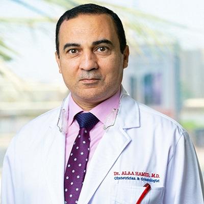 مستشفى غسان نجيب فرعون د علاء حامد